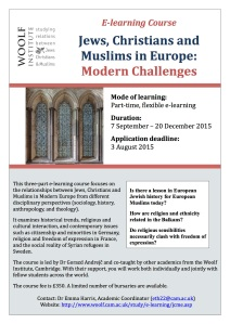 Jews Christians and Muslims in Europe 2015