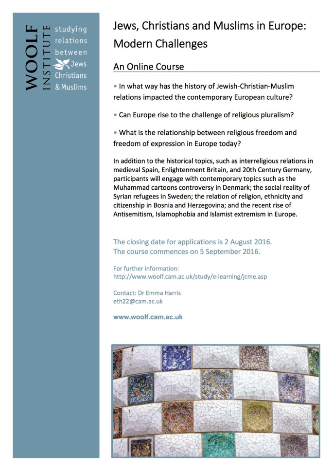 Jews, Christians and Muslims in Europe Modern Challenges 2016.jpg